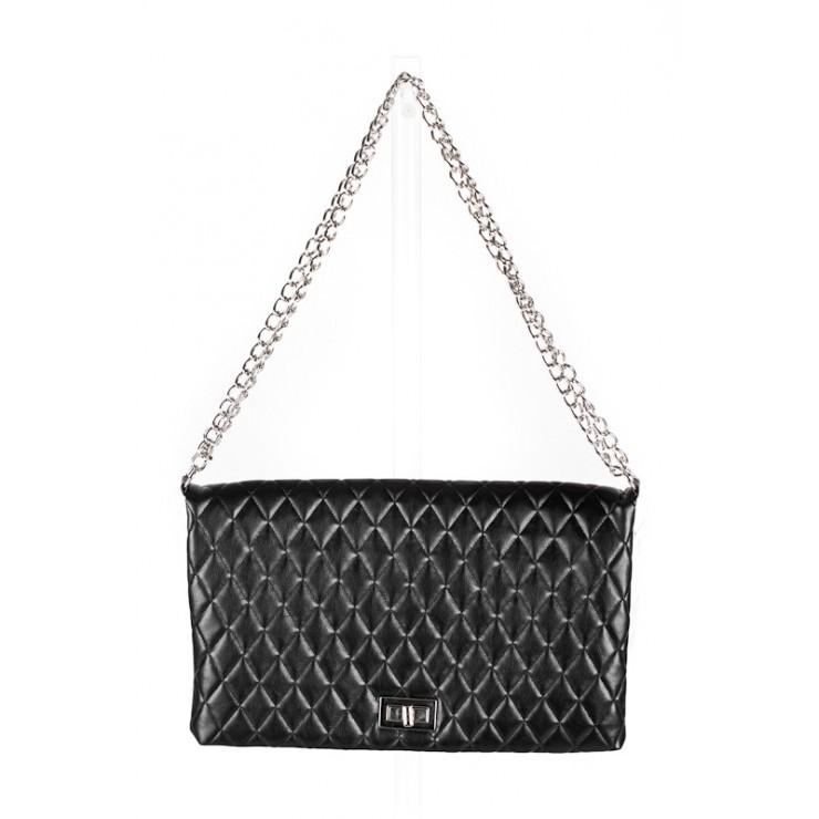 Woman Handbag 717 black Made in Italy