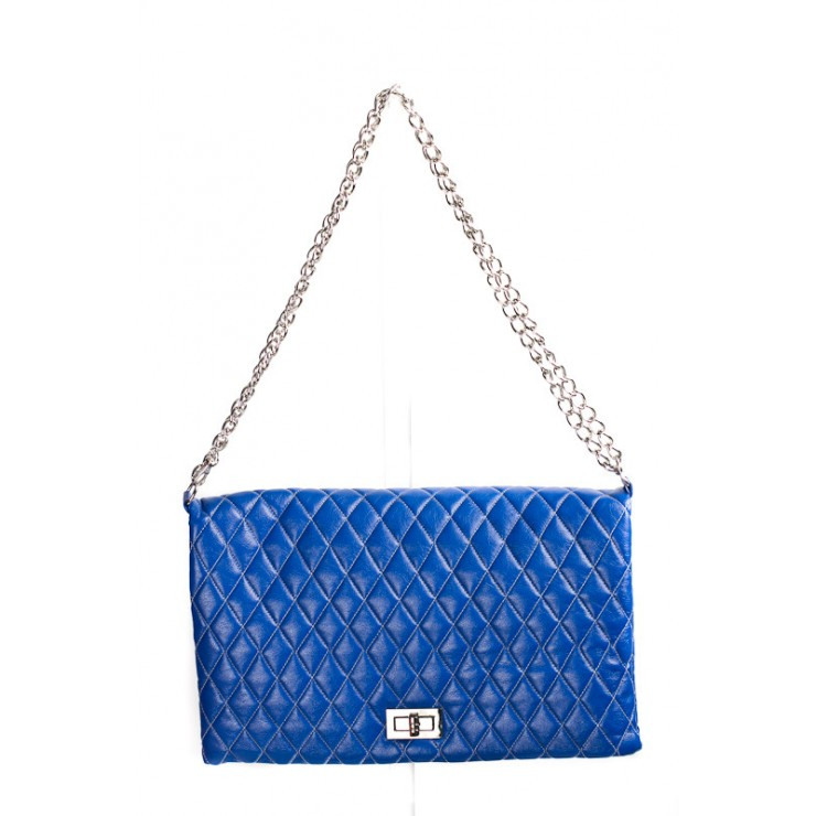 Woman Handbag 717 bluette Made in Italy