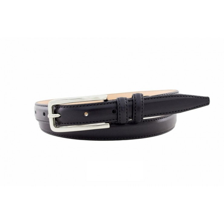Women belt 140 black Made in Italy