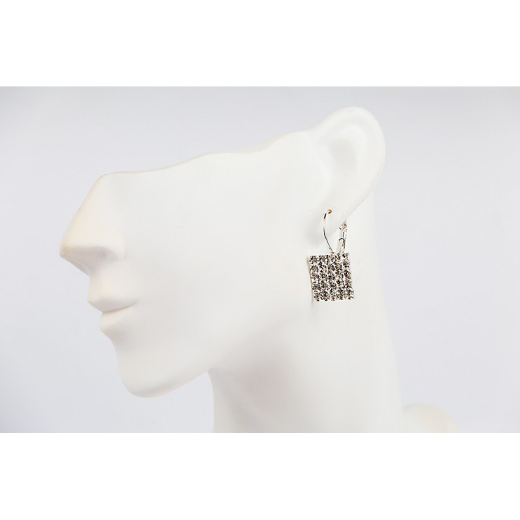 Ladies strass earrings 1194