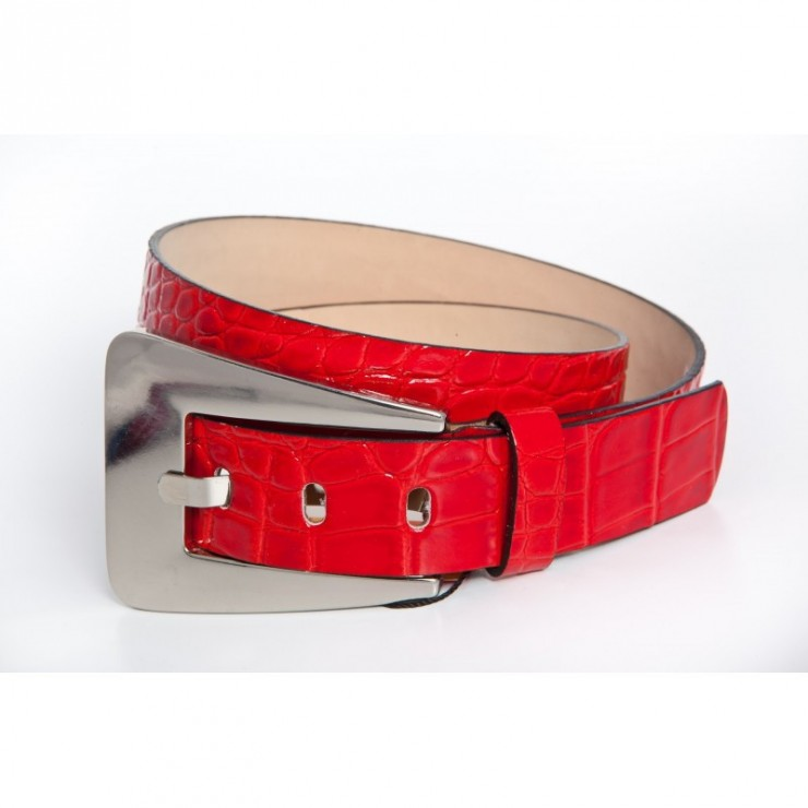 Women belt 525 red Renato Balestra