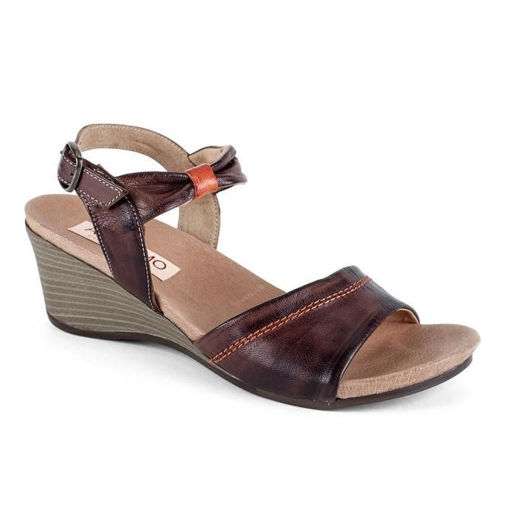Woman leather sandals 1132 Andiamo