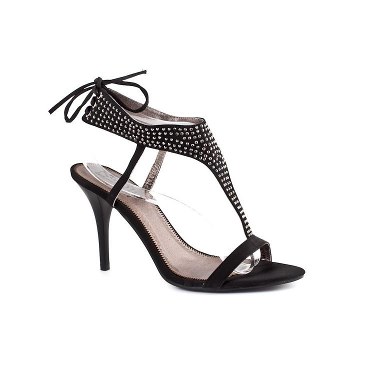 Woman sandals 317 black Nedline Shoes
