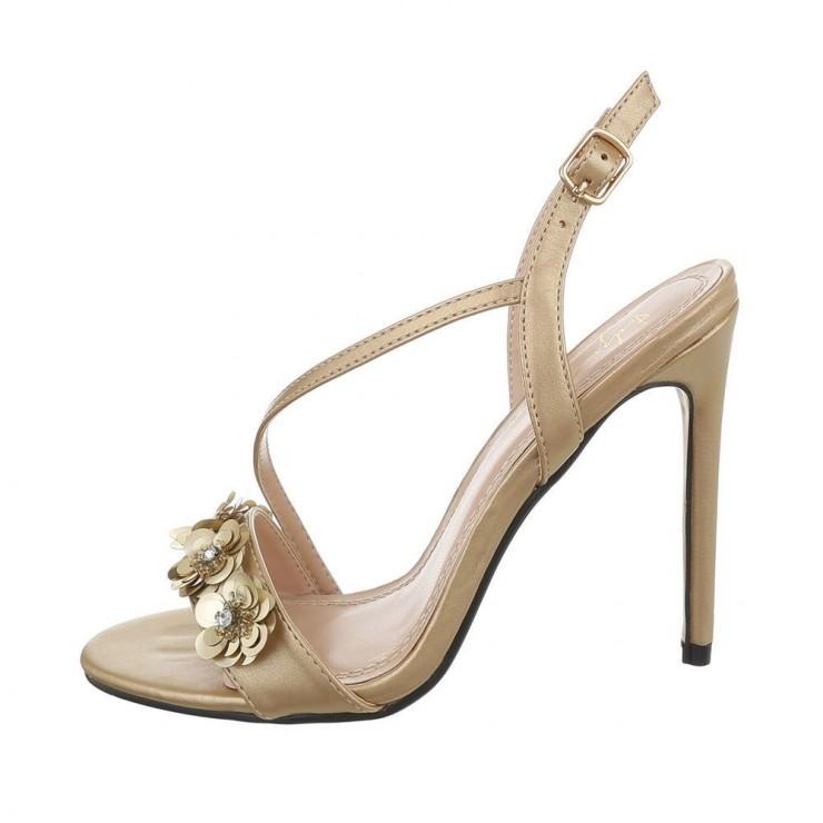 Dámske sandále zlaté Sergio Todzi