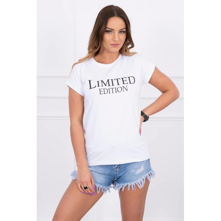 Dámske tričko LIMITED EDITION biele
