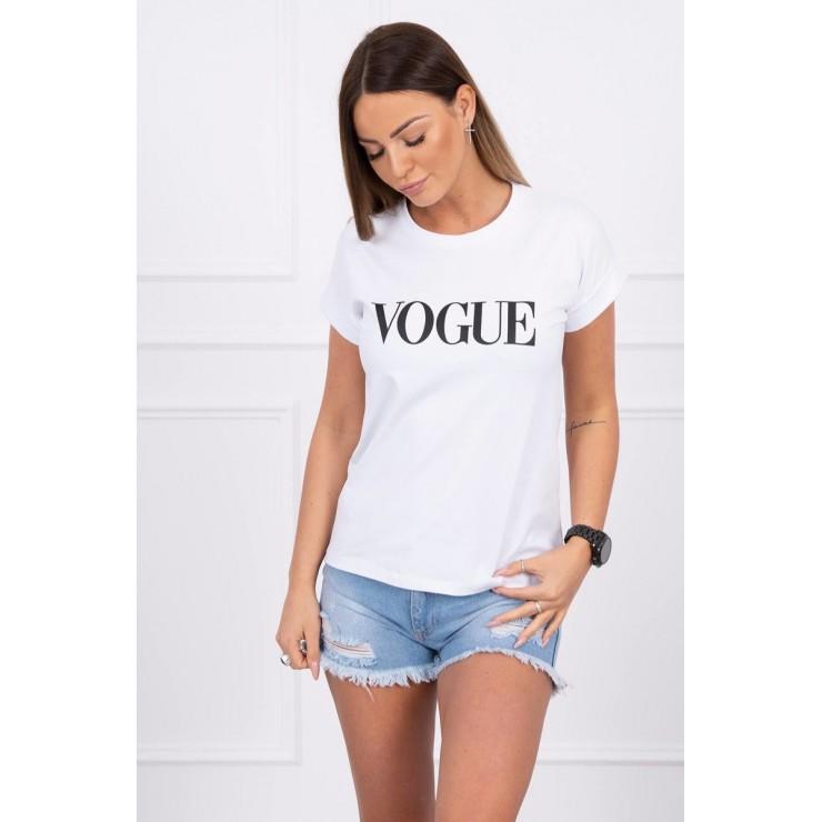 Dámske tričko VOGUE biele