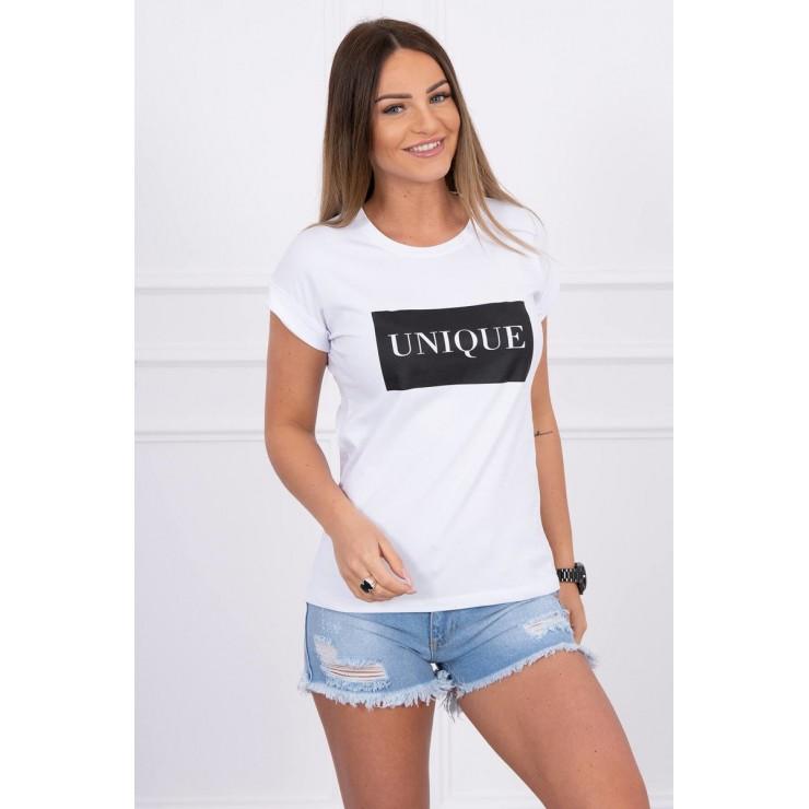 Women T-shirt UNIQUE white