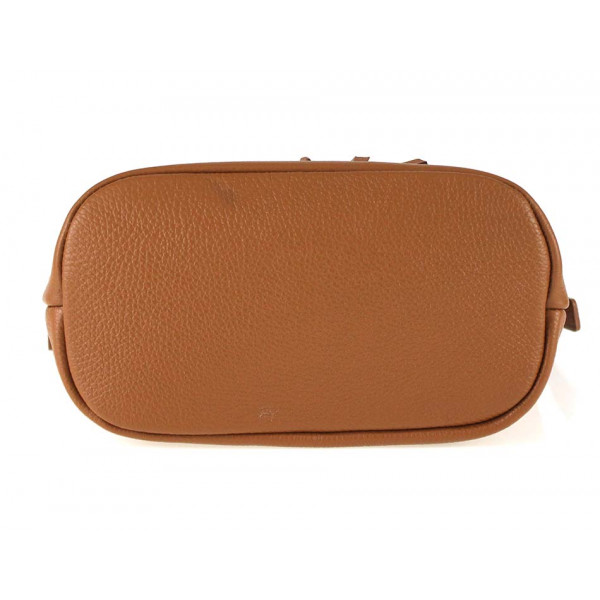 9020fce8dd4f Okrová kožená kabelka na rameno 631 - MONDO ITALIA s.r.o.