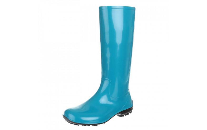 High rubber boots