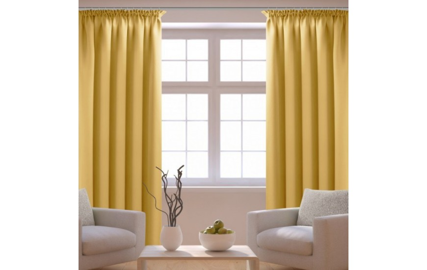 One-color curtains